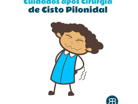 Recuperação da cirurgia de Cisto Pilonidal