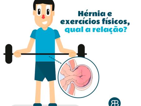 Hérnia e exercícios físicos