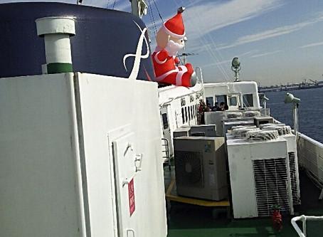 船上のサンタクロース