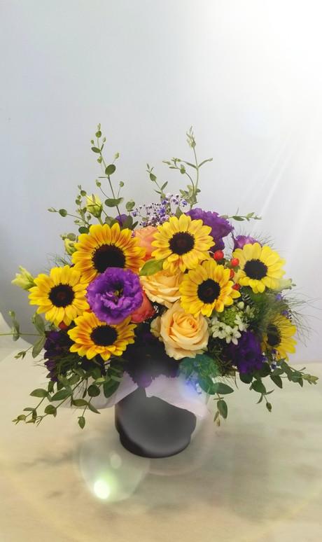 発表会のお花