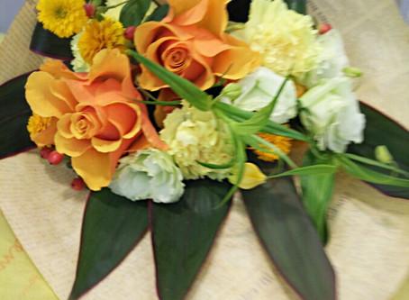 ご退職の花束
