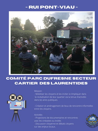 Comité Parc Dufresne Secteur Cartier des Laurentides
