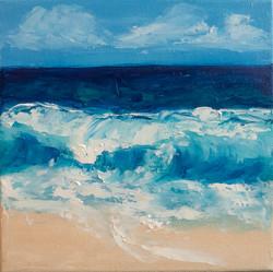 Ocean Waves oil painting