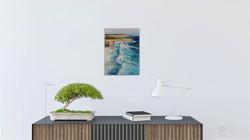 Ocean wave seascape oil painting