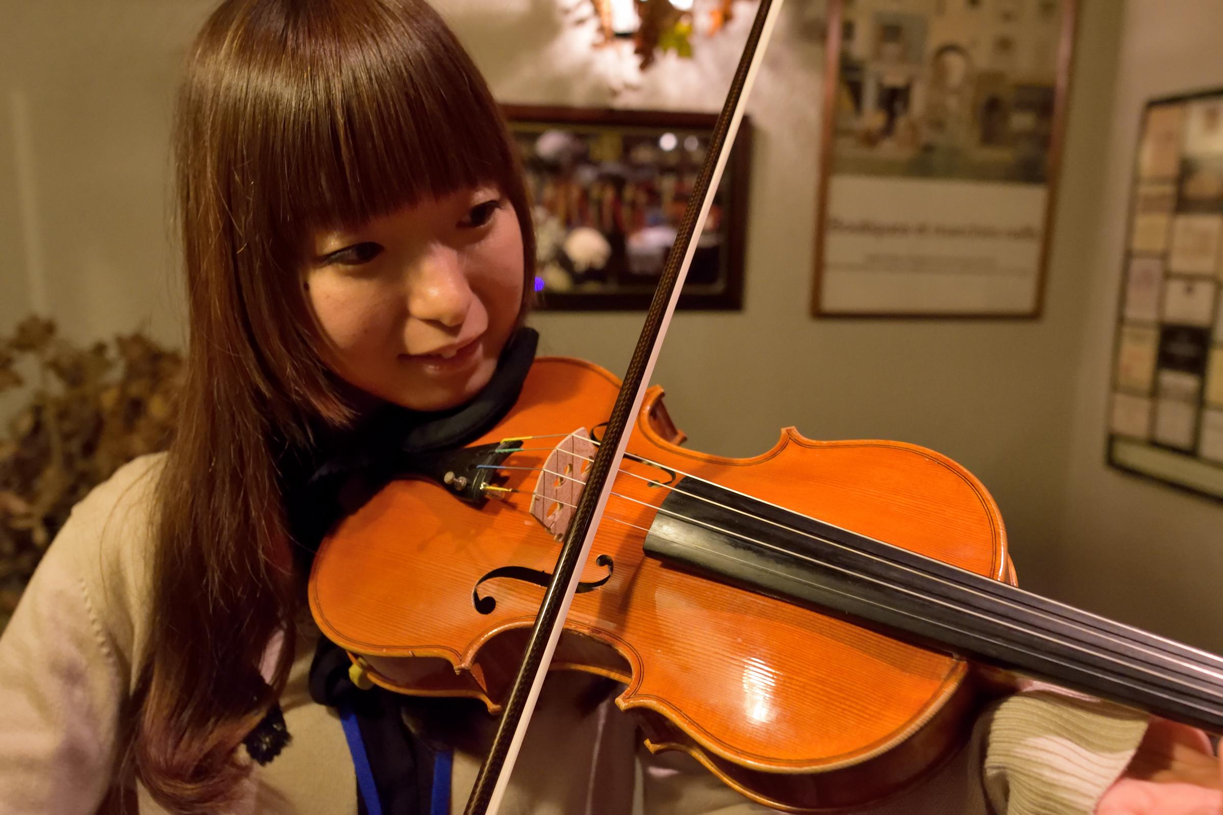 弦楽器体験会