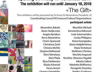 Come and see my work at 'The Gift' exhibition - Cyprus Affordable Art Fair