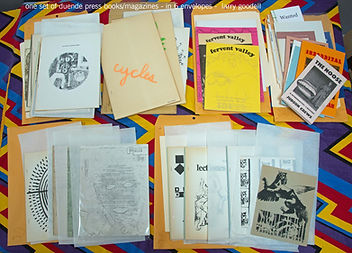 one set of duende press books magazine i