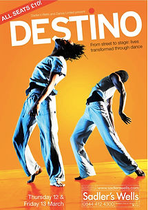 poster for Destino Sadlers Wells