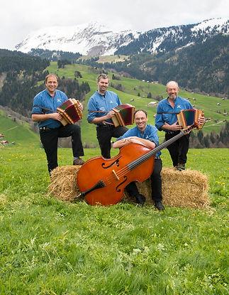 Schweizerörgeli Quartett Habkern