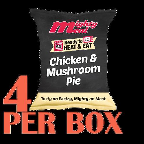 x4 Pre-Baked Chicken & Mushroom Pies