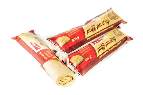 400g Puff Pastry (12 units)