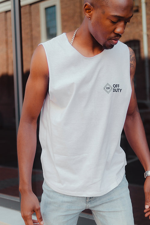 Processed Vest (White)