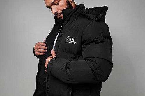 Heavy Duty Black Rain Jacket