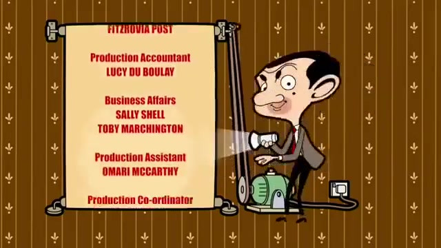 Mr Bean Animated Series Credits - My first credit