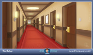 Hotel Hallway - Personal Project