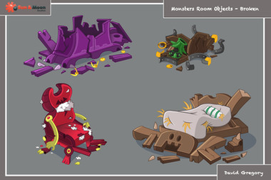 Angry Monsters Room Objects