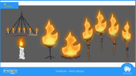 Fire Props Design