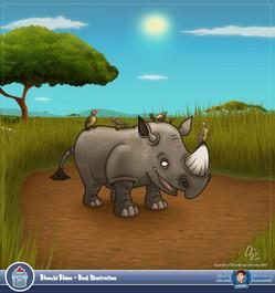 Rhumbi Rhino Book