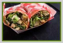 Caesar Wrap rotating truck menu