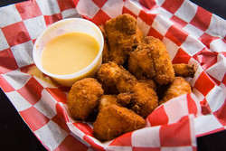 Bites with Honey Mustard for Chicken menu and rotating pic home