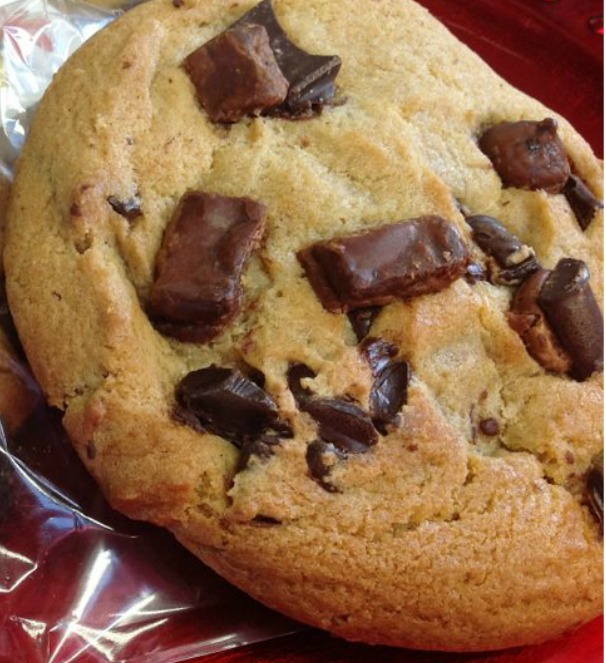 Chocolate Chunk Cookie rotating pic home page and panini menu