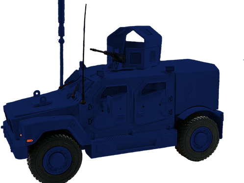 Modular Armored Range Vehicle (MARV) Enforcement Blue