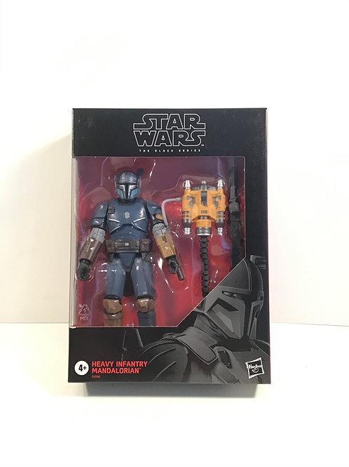 "Star Wars Black Series Heavy Infantry Mandalorian 6"" Scale Action Figure"