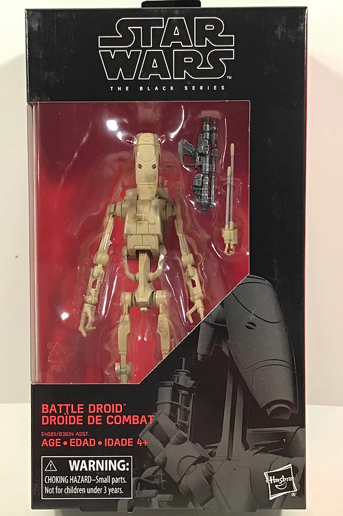 "Star Wars Black Series Battle Droid (Tan) 6"" Action Figure"