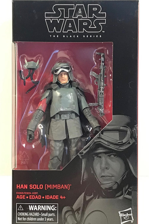 "Star Wars Black Series Han Solo Mimban Mudtrooper 6"" Action Figure"