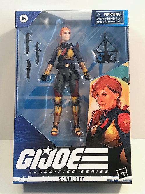 GI Joe Classified Series Scarlett 6inch Figure