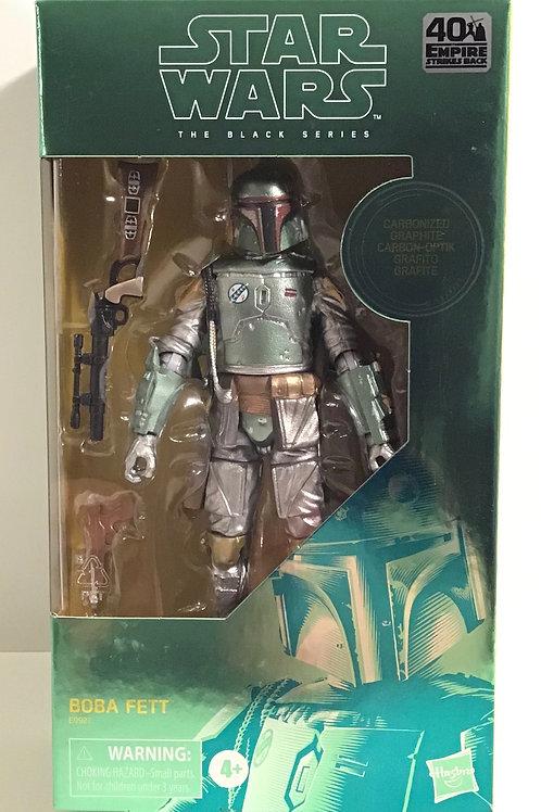 "Star Wars Black Series Carbonized Boba Fett 6"" Action Figure"