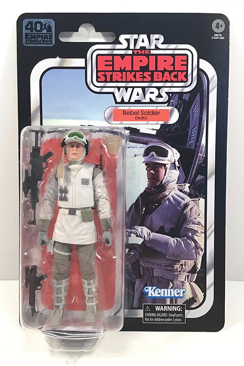 "Star Wars Black Series Hoth Rebel Soldier 6"" Action Figure"