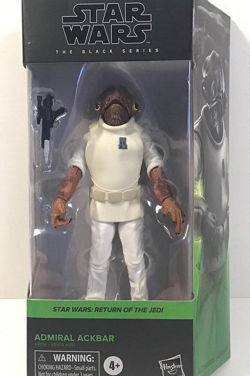 "Star Wars Black Series Admiral Ackbar 6"" Action Figure"