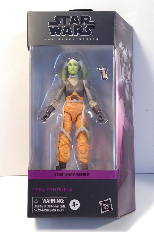 "Star Wars Black Series Hera Syndulla (Rebels) 6"" Action Figure"