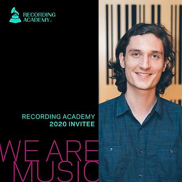 2020 Recording Academy Member Class Invi