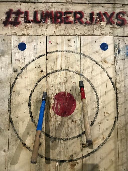 Axe throwing - target - axe - Fazeley -