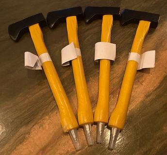 Axe pens, LumberJaxs, axe throwing, fun pens.jpg