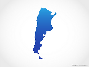 argentina map south adventures