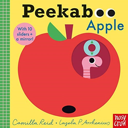 Camilla Reid - Peekaboo Apple (AGE 0+)  (HARDBACK)