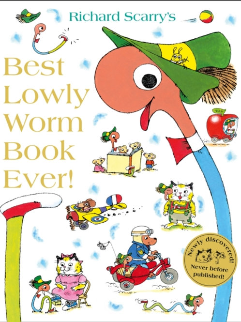 Richard Scarry - Best Lowly Worm Book Ever (AGE 3+)