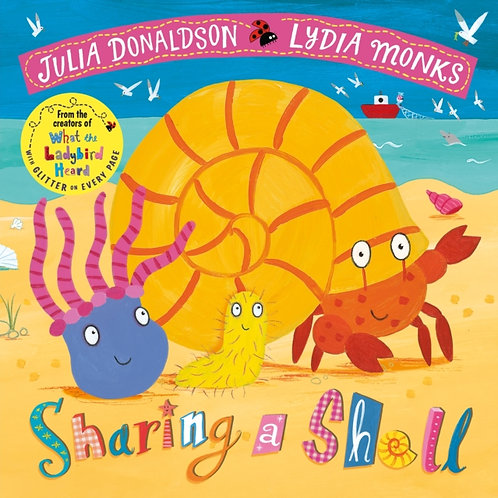 Julia Donaldson - Sharing A Shell (AGE 3+)