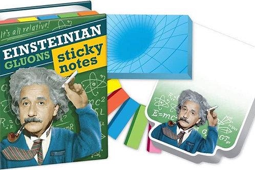 Einsteinian Gluons Sticky Notes