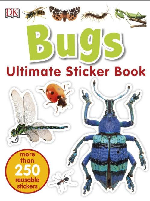 Ultimate Sticker Book: Bugs (AGE 5+)