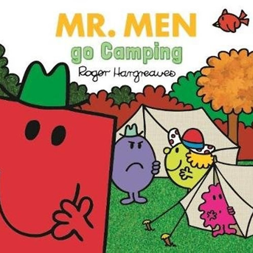 Roger Hargreaves - Mr. Men Go Camping (AGE 3+)