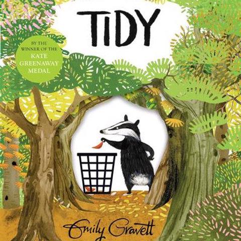 Emily Gravett - Tidy (AGE 3+)