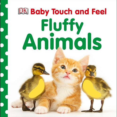 Baby Touch And Feel Fluffy Animals (AGE 0+)