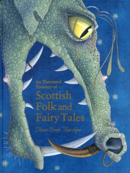 An Illustrated Treasury Of Scottish Folk Tales (HARDBACK)