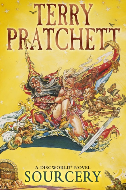 Terry Pratchett - Sourcery : Discworld Book Five