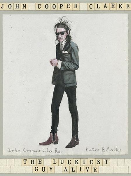 John Cooper Clarke - Luckiest Guy Alive (HARDBACK)
