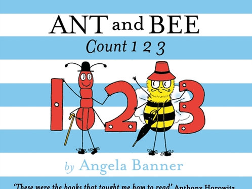 Angela Banner - Ant and Bee Count 123 (AGE 3+) (HARDBACK)